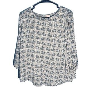 Pixley Stitch Fix Elephant Ellie Blouse
